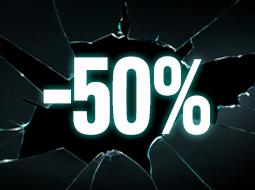 Producten met -50%
