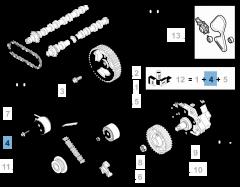 Verstelbare riemspanner voor Fiat Professional Scudo