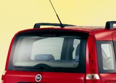 Achterspoiler voor het dak voor Fiat Panda