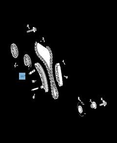 Verstelbare riemspanner voor distributieketting voor Jeep Compass/Patriot