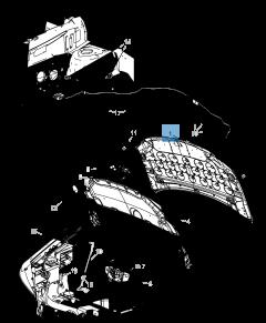 Motorkap voor Lancia Voyager