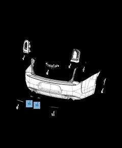 Kentekenplaatverlichting voor Jeep Compass