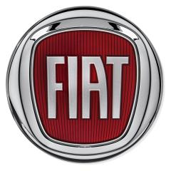 Sierelement Fiat achterzijde voor Fiat en Fiat Professional