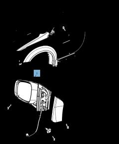 Buitenspiegel voor Lancia Voyager