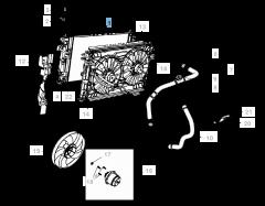 Radiateur motorkoelsysteem