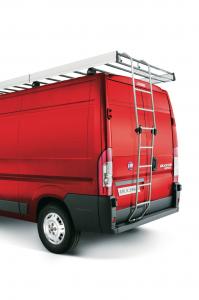 Inklapbare ladder van aluminium voor Fiat Professional Ducato