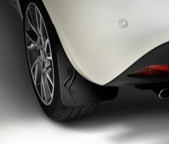 Rubberen spatlappen achterwielen voor Lancia Ypsilon