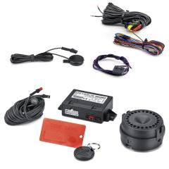 Anti-diefstalsysteem met volumetrisch alarm voor Fiat 500