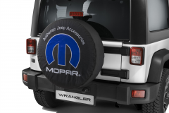 Bescherming voor reservewiel met MOPAR -logo
