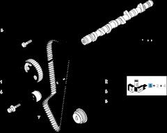Distributiekit (riem, riemspanner) - 2 stuks voor Fiat Professional Ducato