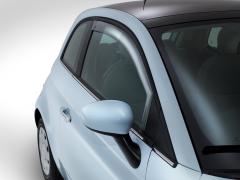 Voorspoilers voor zijruiten voor Fiat 500