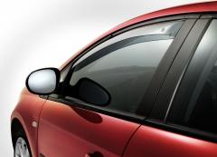 Anti-turbulentie voorspoilers voor zijruiten voor Fiat Bravo