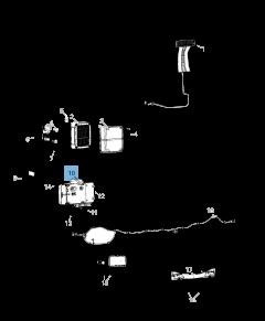 Kentekenplaatverlichting voor Jeep Wrangler