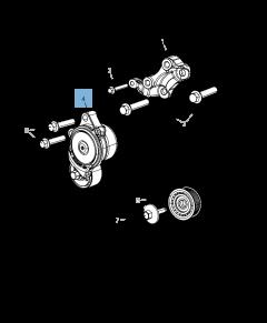 Verstelbare riemspanner, automatisch