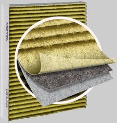 Luchtfilter interieur met actieve koolstof
