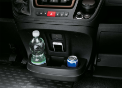 Bekerhouder en opbergvak centrale compartiment voor Fiat Professional Ducato MY2014