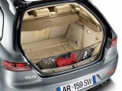 Net om voorwerpen vast te zetten voor kofferbak voor Alfa Romeo 159