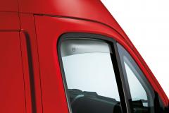 Luchtspoilers voor voorste zijruiten voor Fiat Professional Ducato