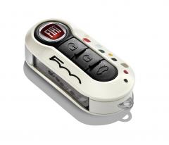 Key cover voor Fiat 500