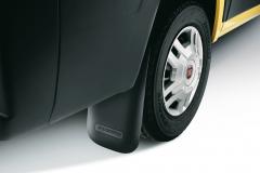 Rubberen spatlappen voor achterwielen voor Fiat Professional Ducato