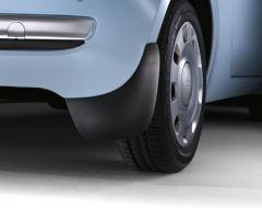 Rubberen spatlappen voor achterwielen voor Fiat 500