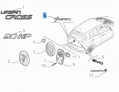 Code model Punto voor Fiat