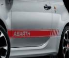 ABARTH-SPORTSTRIPING - WIT