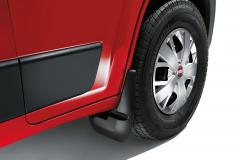 Rubberen spatlappen voor voorwielen voor Fiat Professional Ducato
