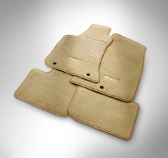 Set vloermatten tapijt, voor en achter, voor Lancia Thema