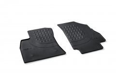 Set vloermatten rubber voor Fiat en Fiat Professional