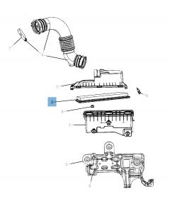Motorluchtfilter voor Jeep Compass/Patriot