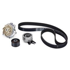 Distributiekit (riem en riemspanner) en waterpomp voor Fiat Professional Ducato