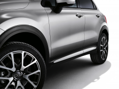 Witte zijafwerkingen voor portieren voor Fiat 500X
