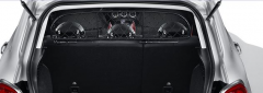 Scheidingsnet voor vervoer van dieren voor Fiat 500X