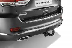 Uittrekbare trekhaak voor Jeep Grand Cherokee