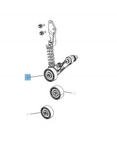 Verstelbare riemspanner voor Jeep Compass/Patriot