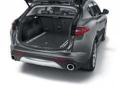 Rails voor organizer kofferbak voor Alfa Romeo Stelvio