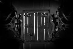 Bodemplaatbescherming voor vooras voor Jeep Grand Cherokee