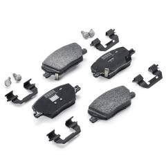 Remblok voorste remschijf (set 4 stuks) voor Fiat en Fiat Professional
