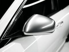 Spiegelkappen van gesatineerd chroom voor Alfa Romeo