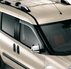 Luchtspoilers voor voorste zijruiten voor Fiat en Fiat Professional Doblo