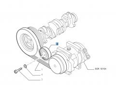 Vaste riemspanner voor Fiat Professional Ducato