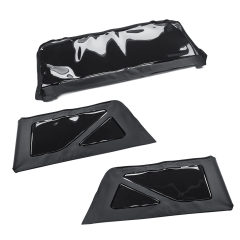 Set achterruiten voor soft top 2-deurs versie