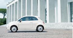Set van vintage-stijl wieldoppen voor wielen van 15'' voor Fiat 500