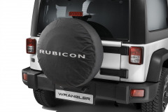Bescherming voor reservewiel met Rubicon-logo