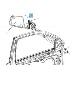 Buitenspiegel voor Jeep Grand Cherokee