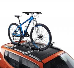 Verticale fietsendrager voor Jeep