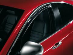 Anti-turbulentie voorspoilers voor zijruiten voor Alfa Romeo Giulietta